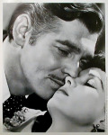 Portrait Clark Gable, Vivian Leigh - Vom Wind